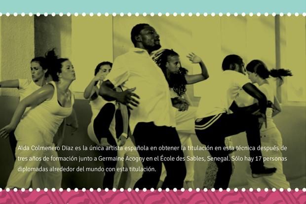Taller de danza africana contemporánea