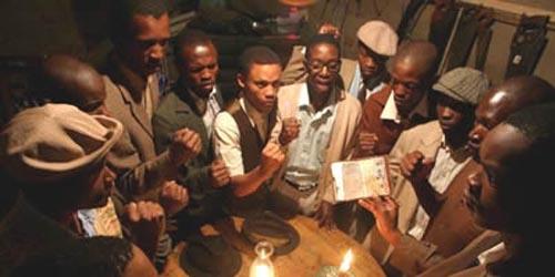 THE TWELVE DISCIPLES OF NELSON MANDELA