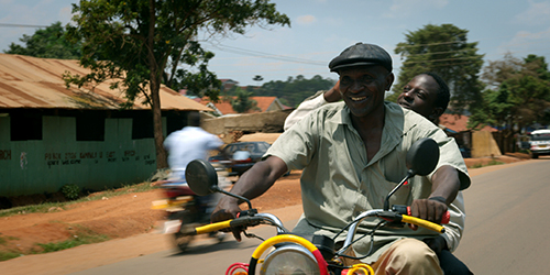 The Boda Boda Thieves at the African Film Festival in Cordoba