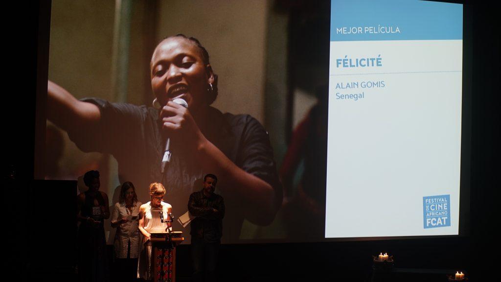 « Félicité » d'Alain Gomis gagne le prix du meilleur long-métrage au FCAT 2017